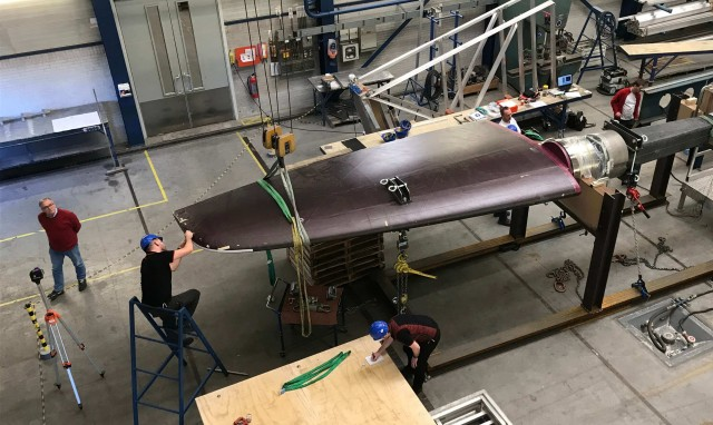 Rondal RH400 rudder test
